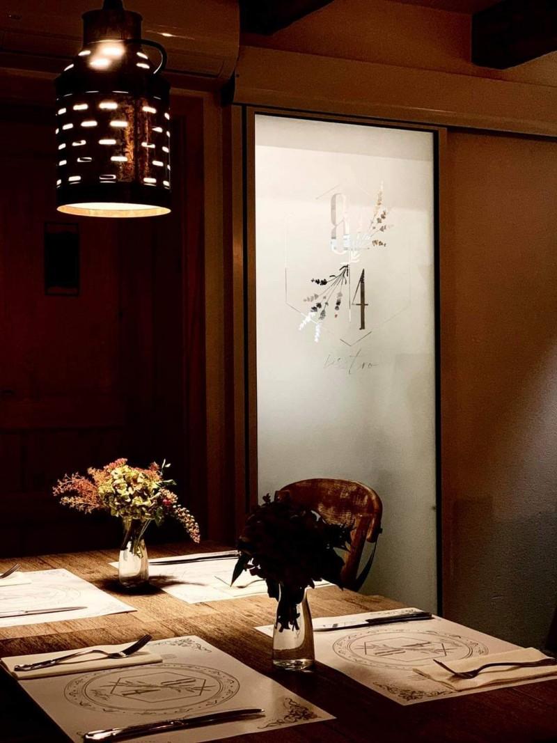 1 mozgós design fotocellás ajtó telepítésünk a kapolcsi 84 Bisztró számára