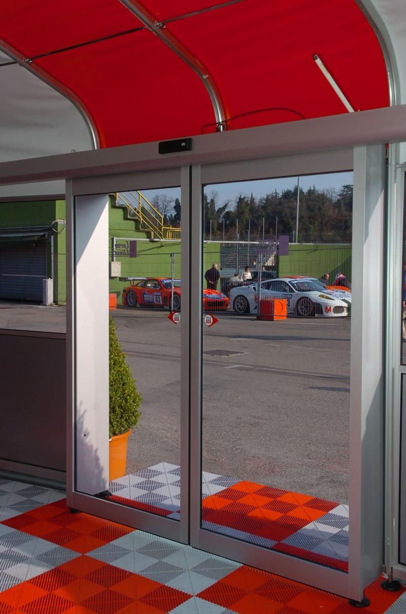A Ferrari is a Ditec automata ajtónkat választotta