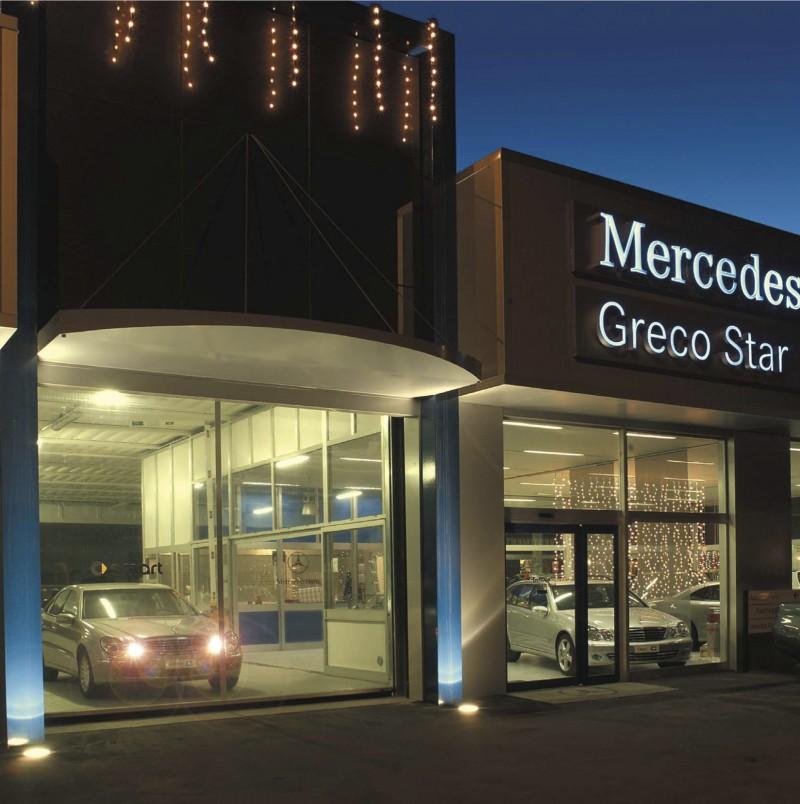 A Mercedes is a Ditec automata ajtót választotta